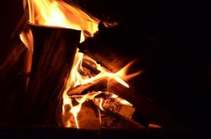 badniak focul de stejar de craciun la Socol (2)