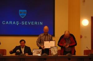 Alpinistul Bruno Silviu Adamcsek, cetăţean de onoare al judeţului