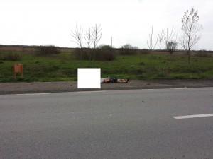 blurr biciclist decapitat accident mortal