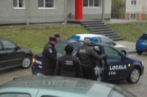 Politia locala actiune cersetorie stadion