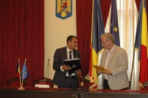 Consulul Onorific al Republicii Moldova la Timisoara in vizita la Bocsa si la Muzeul Lucaci (3)