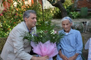 Primarul Ioan Marcel Vela si Tanti Margit